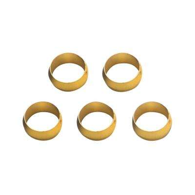 Brass Olive Inserts 1/2in - Pack of 5