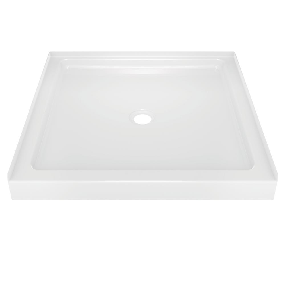 Classic 400 36 in. x 36 in. Single Threshold Shower Base