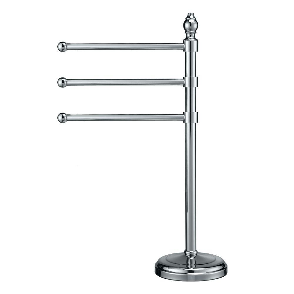 Gatco 3-Arm Towel Holder in Chrome
