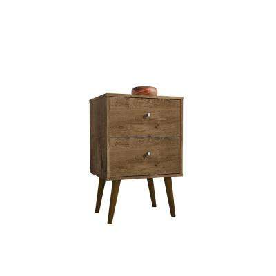 Liberty 2.0 Rustic Brown Nightstand
