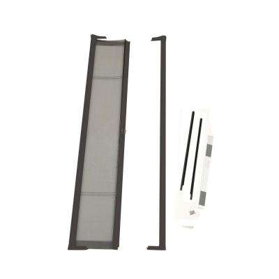 36 in. x 80 in. Brisa Bronze Standard Retractable Screen Door