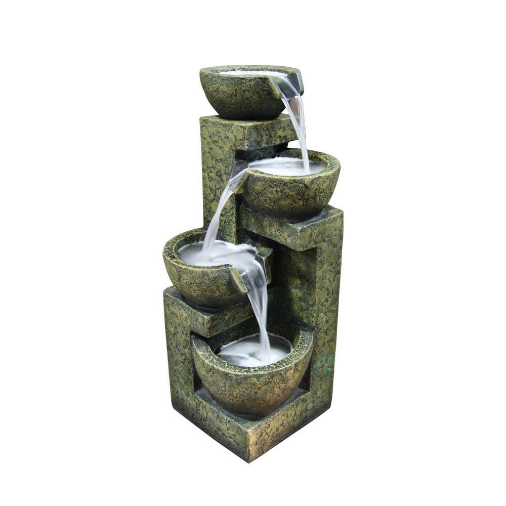 Alpine Corporation 3-Tier Water Fountain
