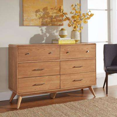 Holbrook 6-Drawer Natural Dresser