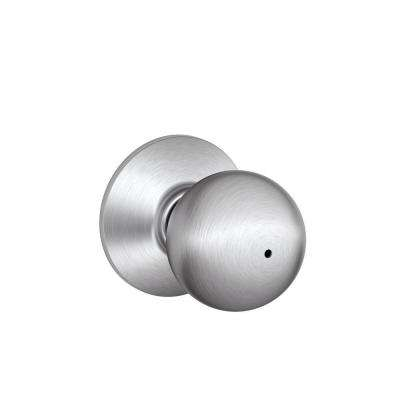 Orbit Satin Chrome Bed and Bath Knob