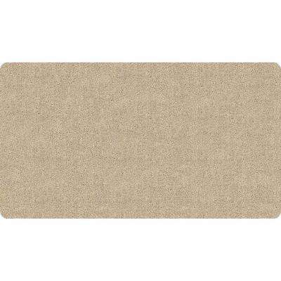 Charming DirtStopper Brown And White 30 In. X 58 In. Absorbent Mat