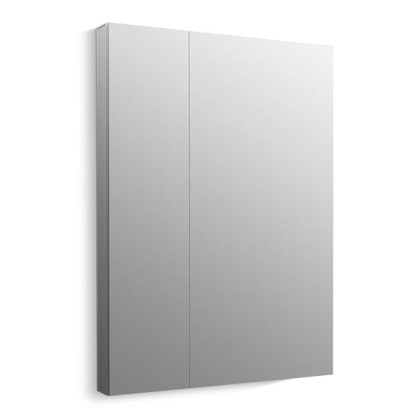 Maxstow 30 in. x 40 in. Frameless Surface-Mount Aluminum Medicine Cabinet