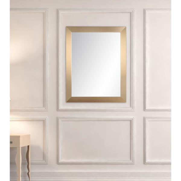 BrandtWorks 32 in. x 35.5 in. Masquerade Accent Mirror AV62MED