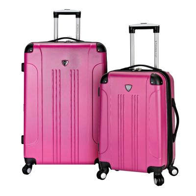 2-Piece Hardside Vertical Rolling Luggage Set with Spinners