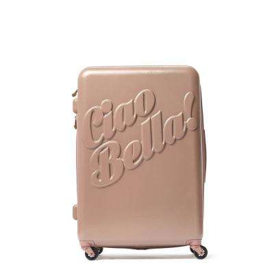 Out of Office 21 in. White Rolling Luggage Suitcase