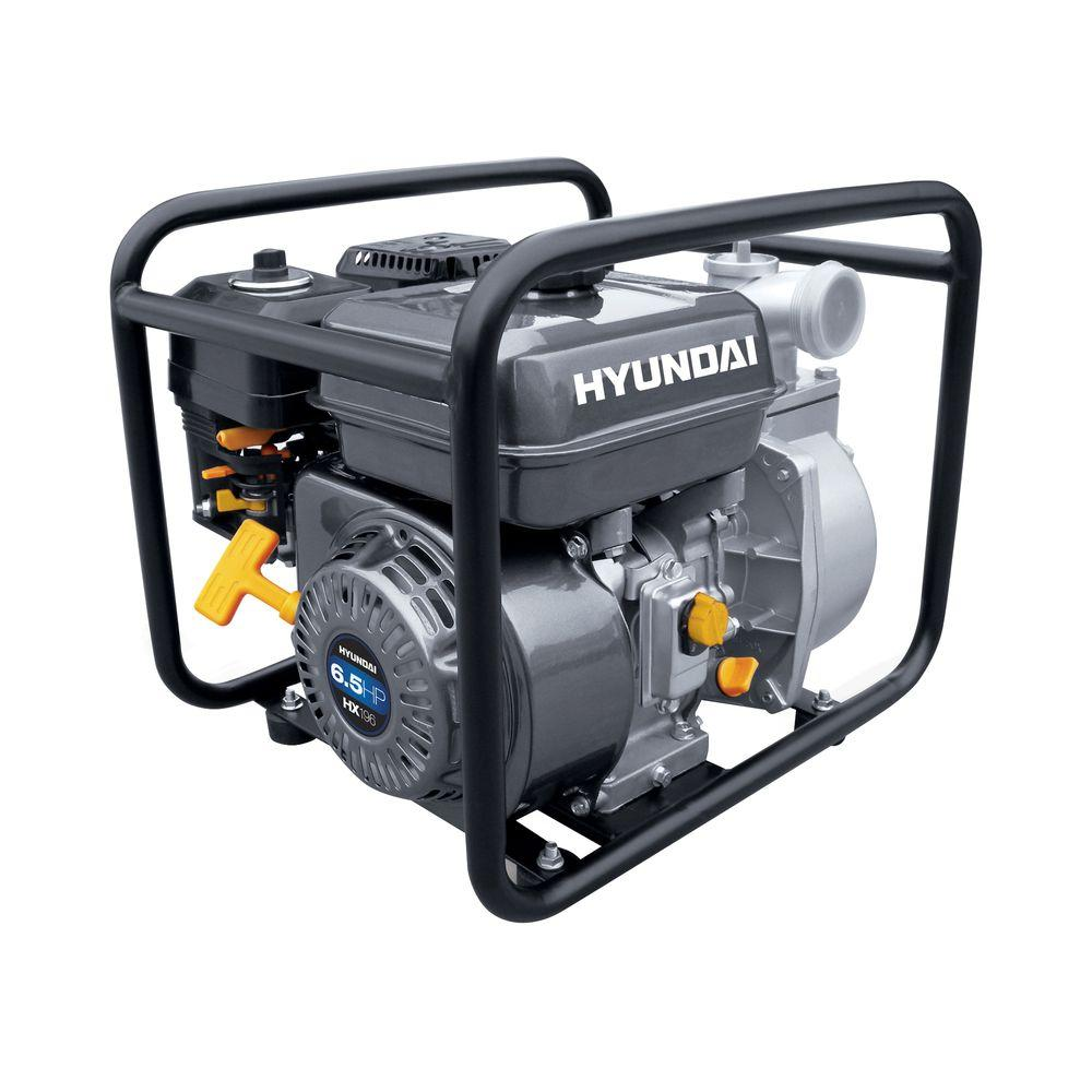 Hyundai 5-1/2 HP 2 in. Gas Powered Water Pump