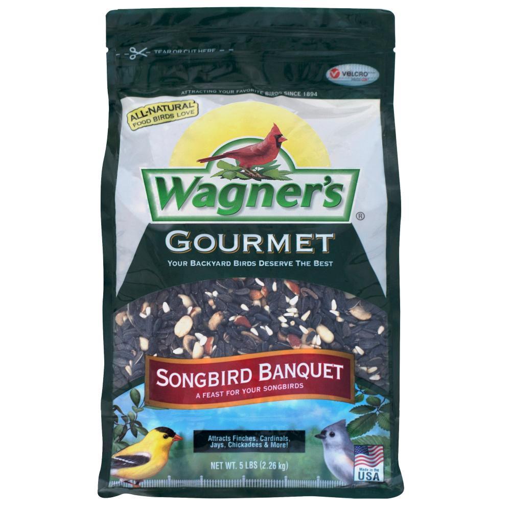 Gourmet 5 lb. Songbird Banquet Wild Bird Food