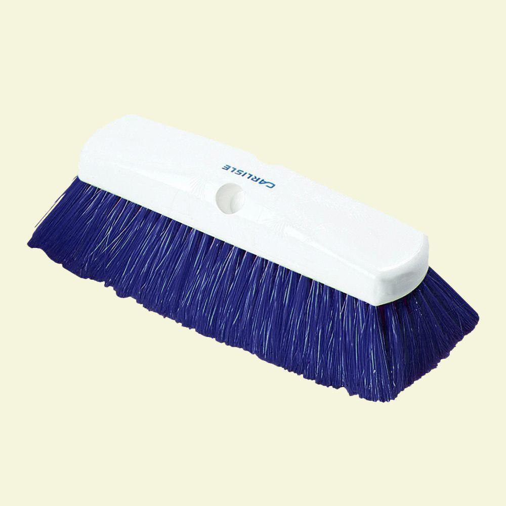 10 in. Flo-Thru Nylex Blue Wall Brush (Case of 12)