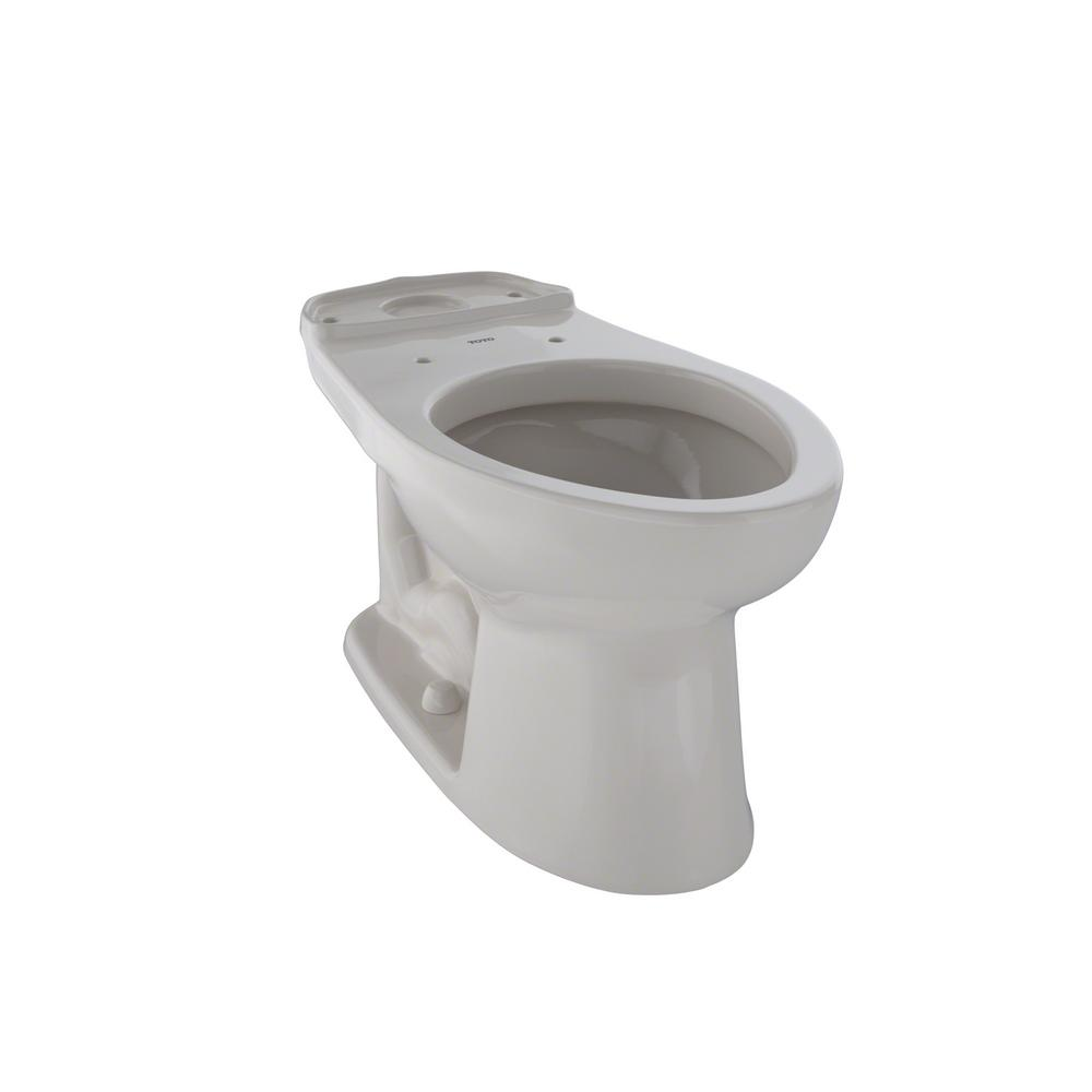 TOTO Eco Drake ADA Compliant Elongated Toilet Bowl Only in Sedona ...