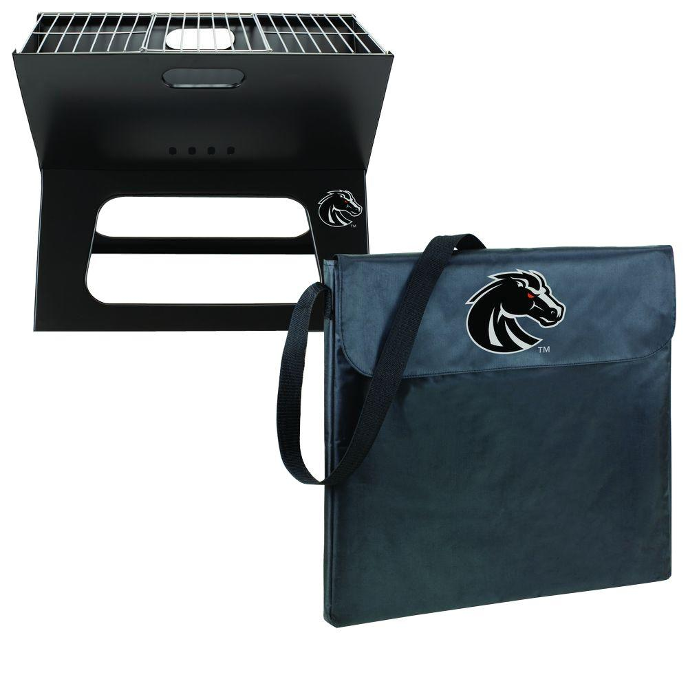 Boise State Broncos - X-Grill Portable Charcoal Grill