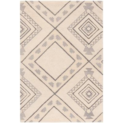 Safavieh Casablanca Ivory/Gray 4 ft. x 6 ft. Area Rug