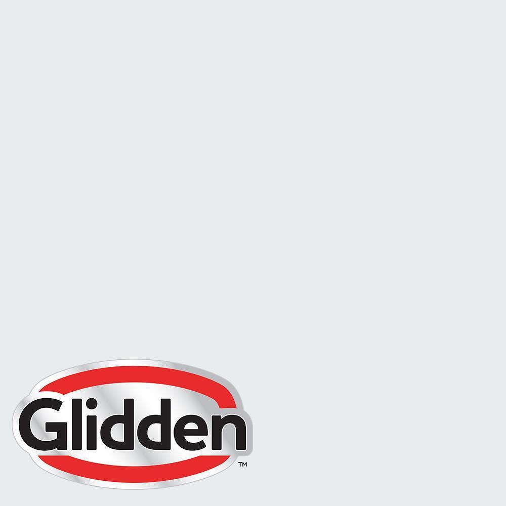 Glidden Essentials 5 Gal Hdgcn43 Dove White Semi Gloss Exterior Paint