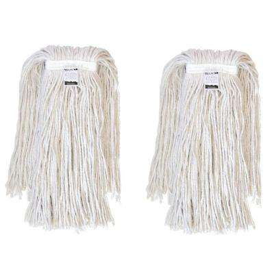 #32, 4-Ply Cotton Mop Head with Cut-Ends (2-Pack)