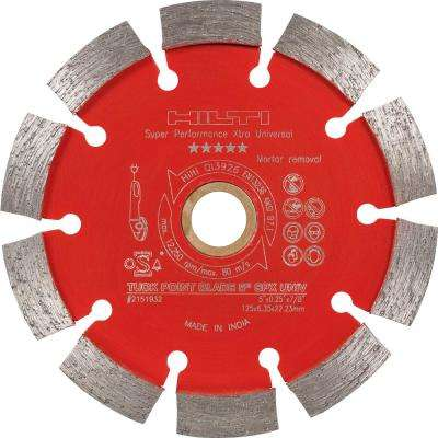 5 in. Universal Diamond Tuck Point Blade Super Performance (6-Pack)
