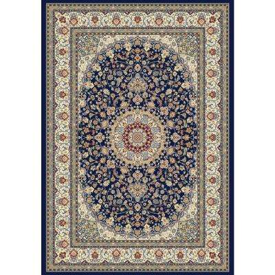 Nicholson Blue/Ivory 7 ft. x 10 ft. Indoor Area Rug