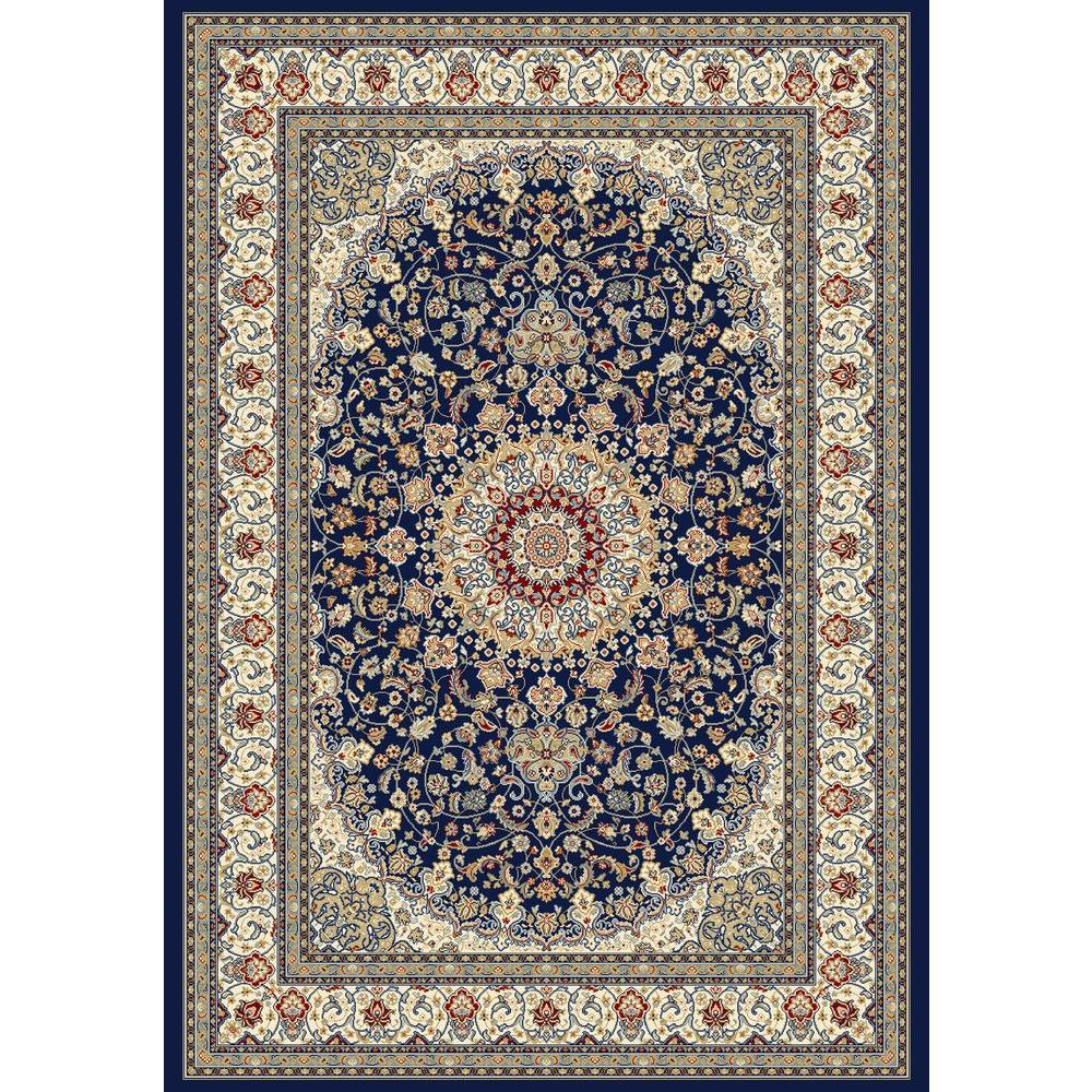 Nicholson Blue/Ivory 7 ft. 10 in. x 11 ft. 2 in.