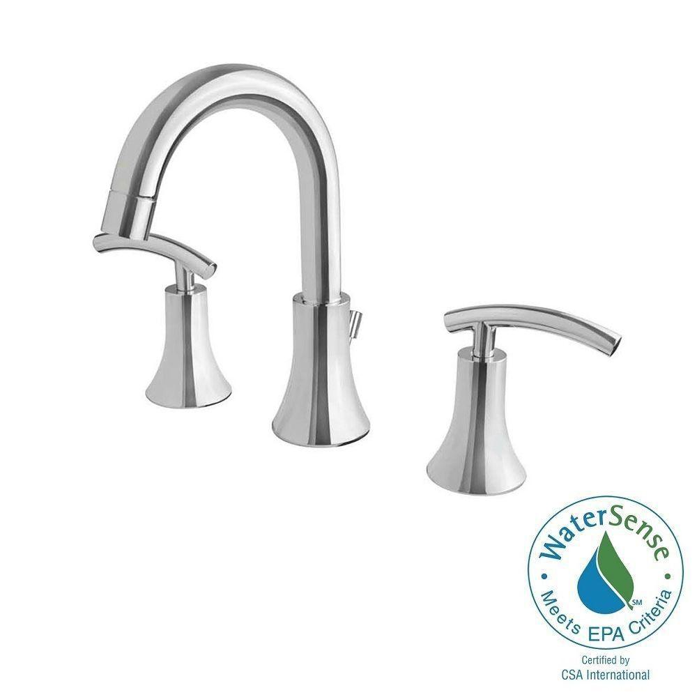 Ultra Faucets Contemporary Collection 8 in. Widespread 2-Handle ...
