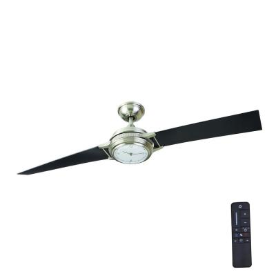 Breckenridge 56 in. LED Indoor Brushed Nickel Ceiling Fan with Remote Control