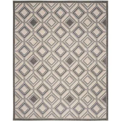 8 X 10 Border Water Resistant Outdoor Rugs The Home