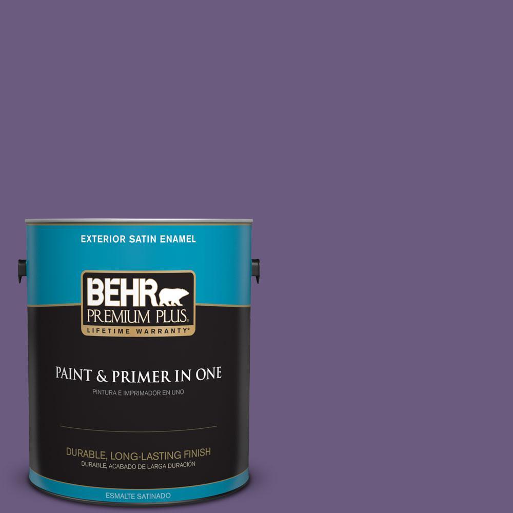 1-gal. #M560-6 Napa Winery Satin Enamel Exterior Paint