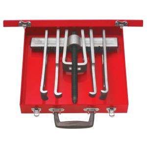 URREA 12 Piece Cased Set of 10 Ton 2 Arm Pullers with 6 Jaws by URREA