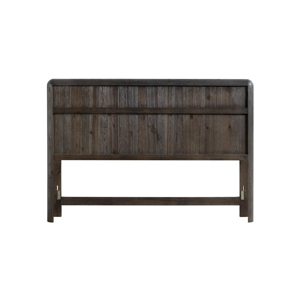 Oakley Distressed Java King Headboard