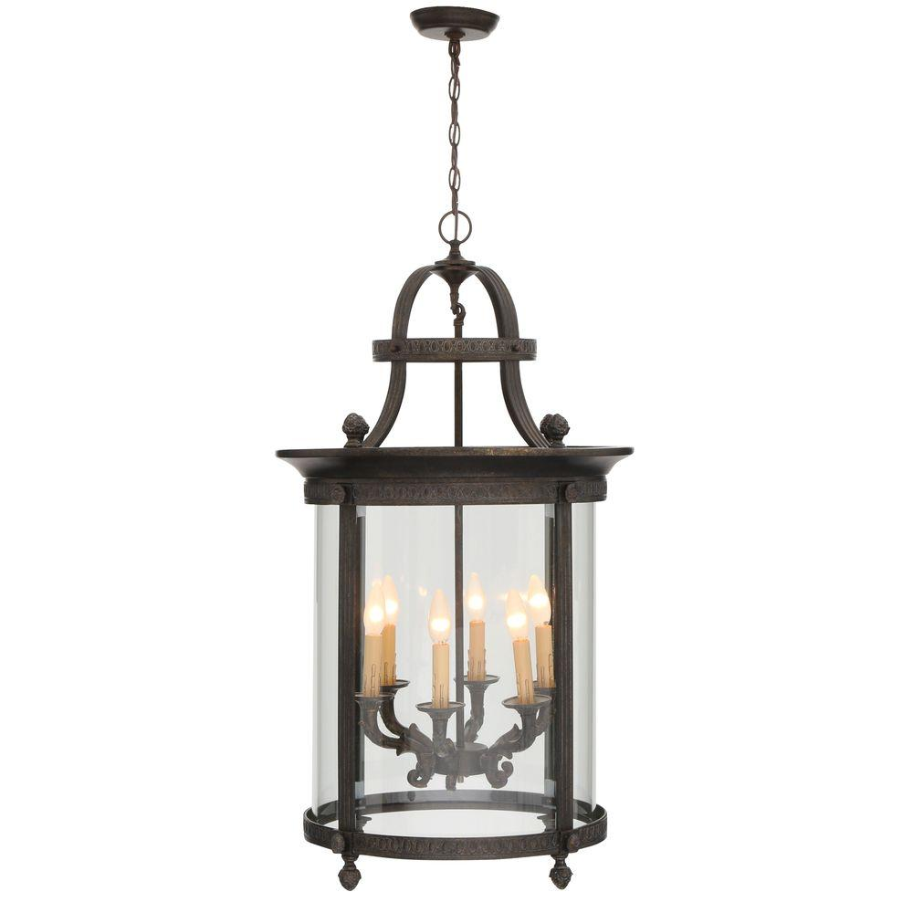 World Imports Chatham Collection 6-Light French Bronze Outdoor ...
