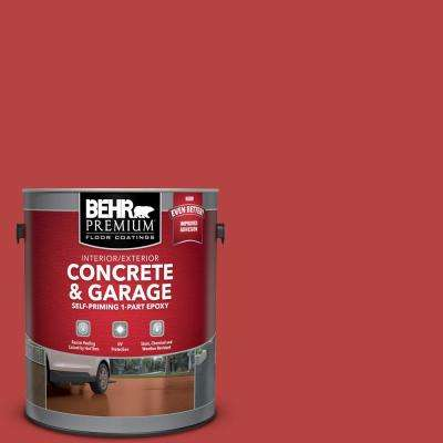 1 gal. #M160-7 Raging Bull Self-Priming 1-Part Epoxy Satin Interior/Exterior Concrete and Garage Floor Paint
