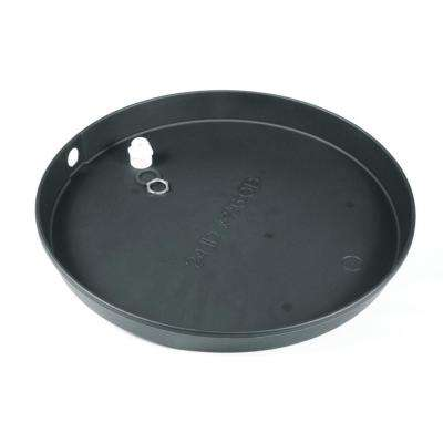 22 in. I.D. Plastic Drain Pan with PVC Fitting