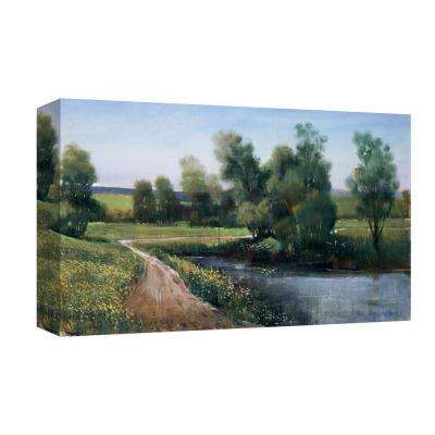 10 in. x 12 in. ''Pathway to Spring'' Canvas Wall Art