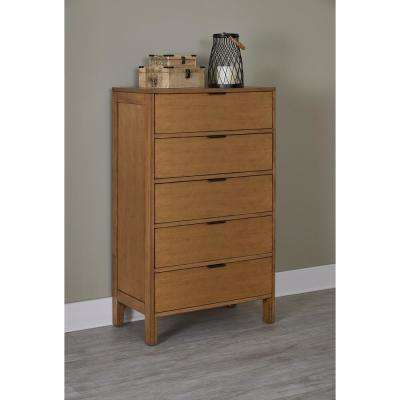 Strategy 5-Drawer Jute Chest of Drawers