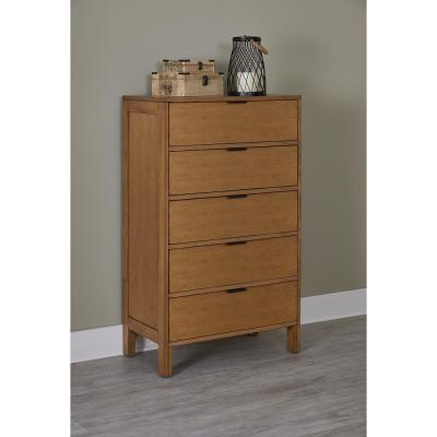 Strategy 5-Drawer Jute Chest
