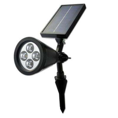 Outdoor Waterproof LED Solar Powered Garden Spotlight