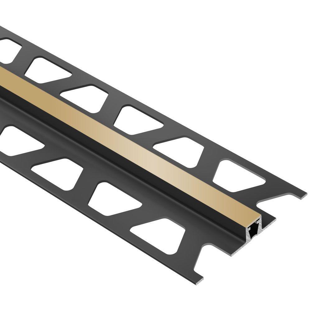Dilex-BWB Light Beige 3/8 in. x 8 ft. 2-1/2 in. PVC Movement Joint Tile Edging Trim