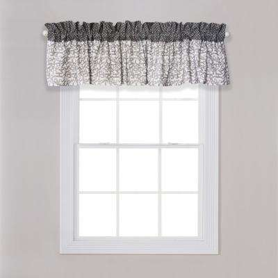 Dr. Seuss Cat and Things Gray and White Window Valance