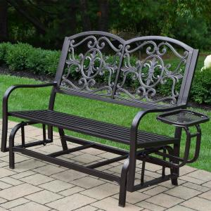 Lakeville Metal Outdoor Glider by