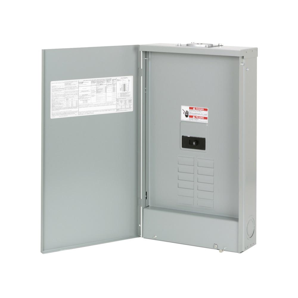 Eaton Br 200 Amp 8 Space 16 Circuit Outdoor Main Breaker Loadcenter With Cover Br816b200rf The Home Depot