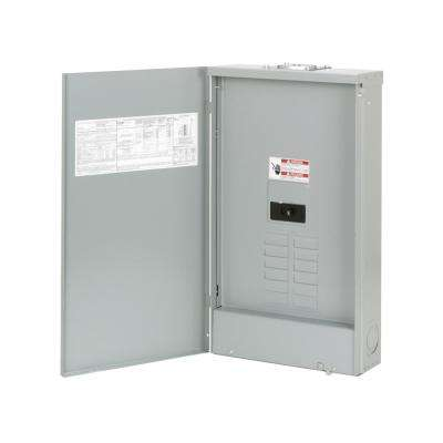 BR 200 Amp 8-Space 16-Circuit Outdoor Main Breaker Loadcenter with Cover