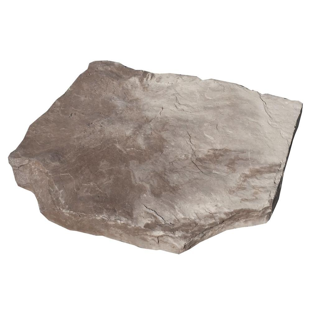 Thin Pavers Home Depot Classic Stone Stonehaven Mojave Stepping Stone Pack 27Pieces Per