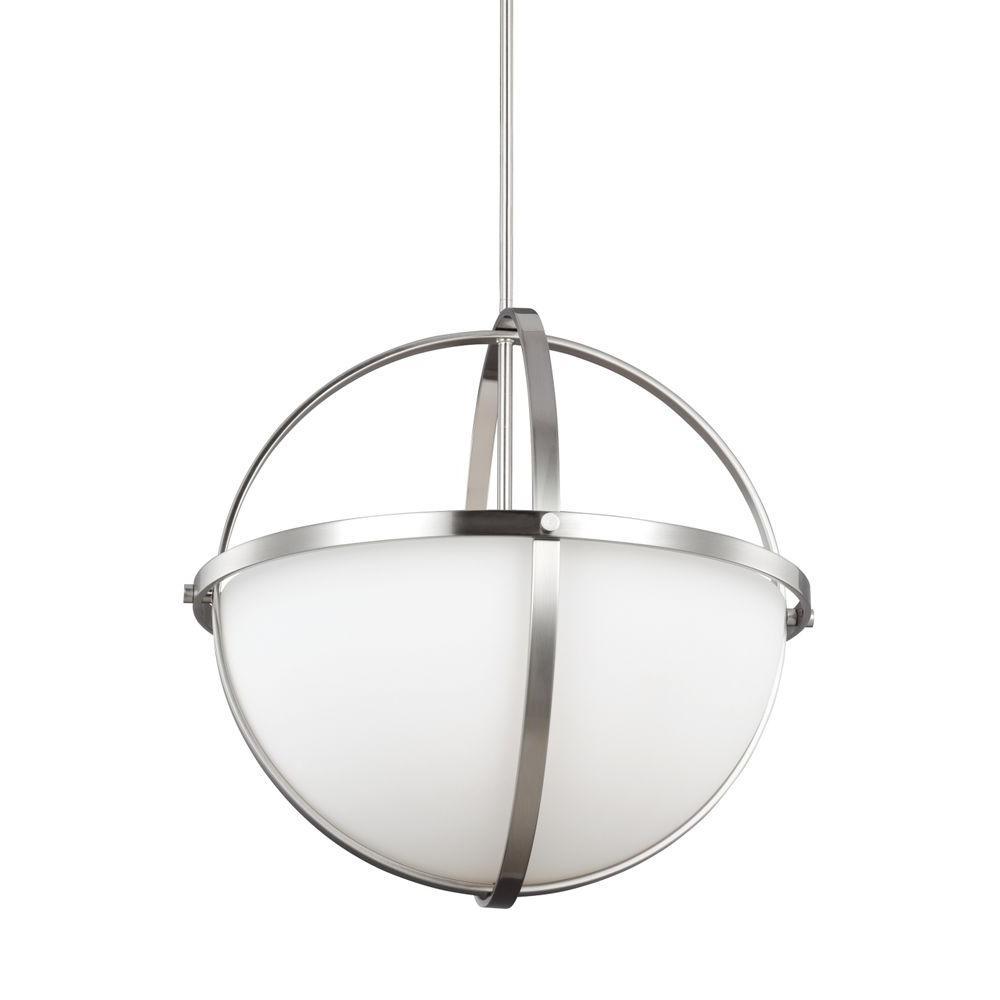 Alturas 3-Light Brushed Nickel Pendant