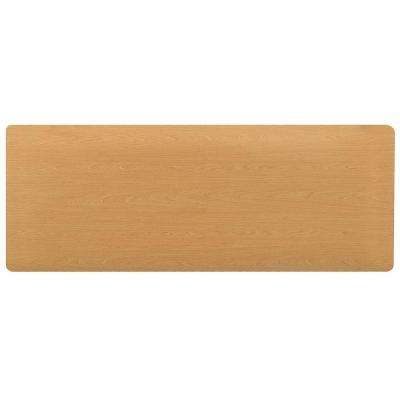 Comfort Style Woodgrain Maple 18 in. x 72 in. Floor Mat