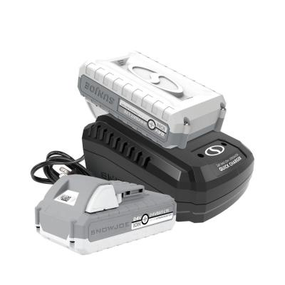 24-Volt iON+ Starter Kit with Two 2.0 Ah Battery Plus Charger