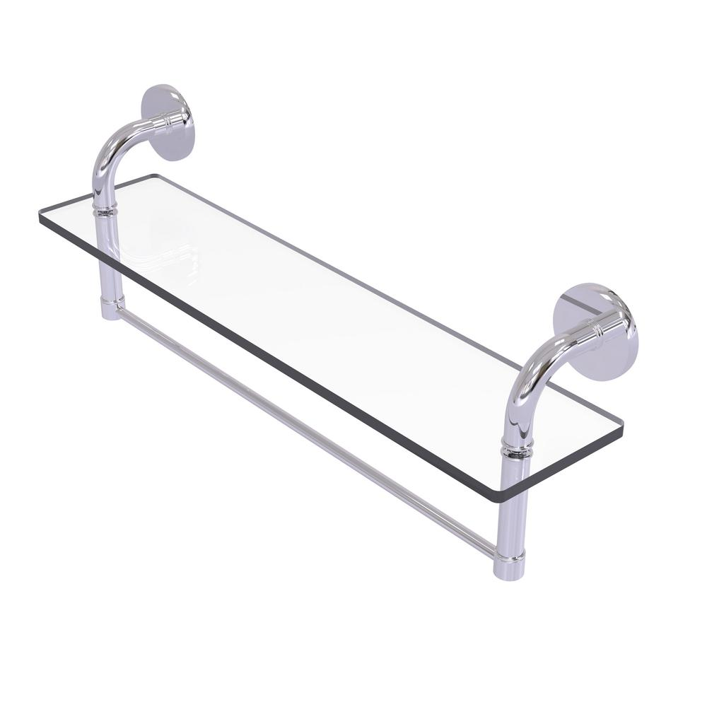 Allied Brass Remi Collection 16 in. Glass Vanity Shelf with ...