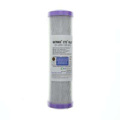 10 in. x 2-1/2 in. Undersink Filter Replacement Cartridge