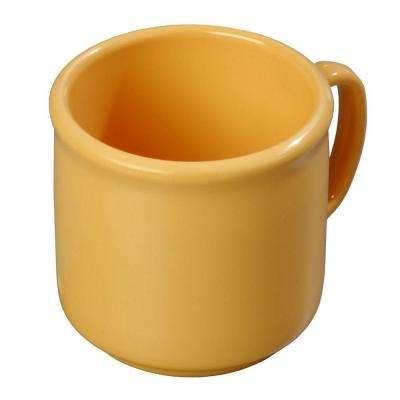 10 oz. SAN Plastic Mug in Honey Yellow (Case of 12)