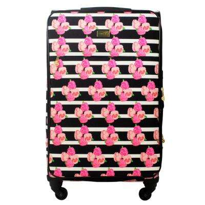 Petunia 29 in. Magenta Soft Sided Rolling Luggage Suitcase